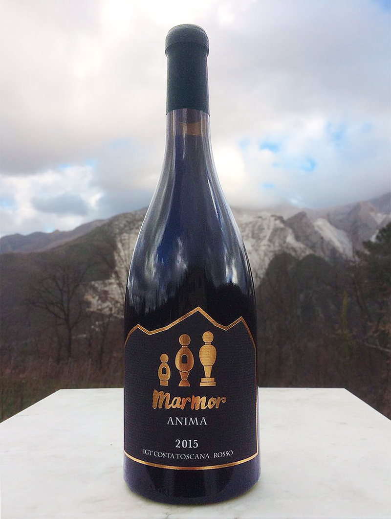 赤ワイン Marmor Anima 2015