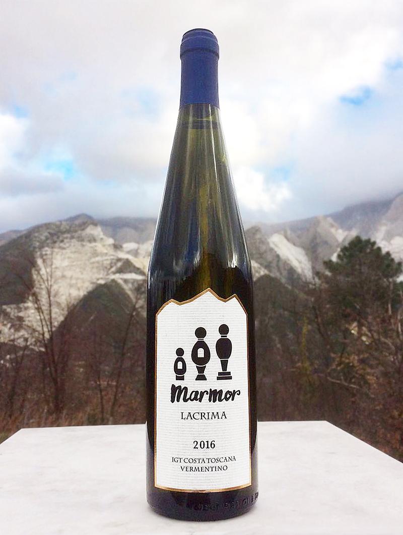 白ワイン Marmor Lacrima 2016